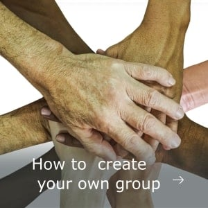 Support how to create your own group web