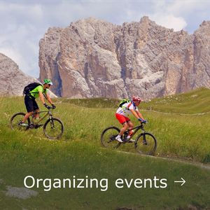 Support Organizing events